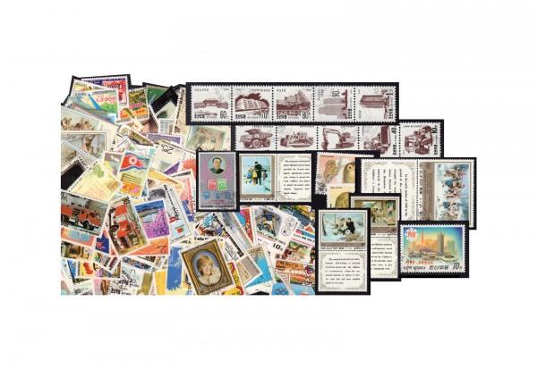 Nordkorea-Sammlung 700 verschiedene Briefmarken