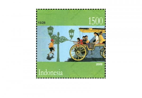 Indonesien 100 Marken postfrisch und gestempelt