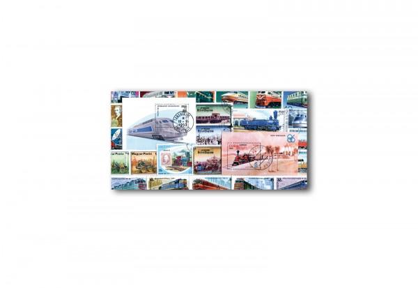 Eisenbahnen Motiv-Sortimente 25 verschiedene Marken